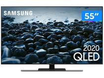 "Smart TV 4K QLED 55"" Samsung 55Q80TA - Wi-Fi Bluetooth HDR 4 HDMI 2 USB"