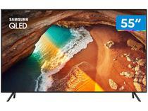 "Smart TV 4K QLED 55"" Samsung QN55Q60RAG - Wi-Fi Bluetooth HDR 4 HDMI 2 USB"