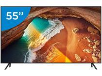 "Smart TV 4K QLED 55"" Samsung QN55Q60RAG Wi-Fi  - HDR Conversor Digital 4 HDMI 2 USB"