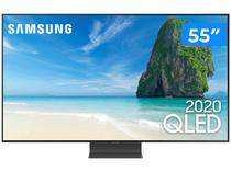 "Smart TV 4K QLED 55"" Samsung QN55Q95TAGXZD - Wi-Fi Bluetooth HDR 4 HDMI 2 USB"