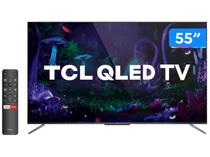 "Smart TV 4K QLED 55"" TCL C715 Android - Wi-Fi Bluetooth HDR 3 HDMI 2 USB"