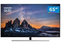 "Smart TV 4K QLED 65"" Samsung QN65Q80RAG Wi-Fi  - HDR 4 HDMI 3 USB"