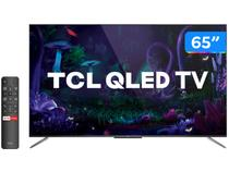 "Smart TV 4K QLED 65"" TCL C715 Android - Wi-Fi Bluetooth HDR 3 HDMI 2 USB"