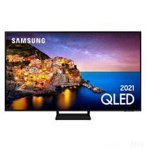 "Smart TV 4K Samsung QLED 55"" com Modo Game, Alexa built in e Wi-Fi - QN55Q70AAGXZD -"