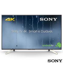 "Smart TV 4K Sony LED 65"" 4K X-Reality Pro, UpScalling, Motionflow XR 240 e Wi-Fi - KD-65X755F -"