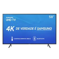 "Smart TV 4K Tela LED 58"" Samsung Wi-Fi Bluetooth HDR 3 HDMI 2 USB"