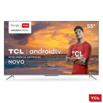 "Smart TV 4K UHD LED 55"" TCL 55P715 Android Wi-Fi - Bluetooth 3 HDMI 2 USB -"