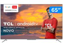 "Smart TV 4K UHD LED 65"" TCL 65P715 Android Wi-Fi - Bluetooth 3 HDMI 2 USB"