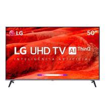 Smart TV 50 Led UHD 4K LG, HDMI, USB, Wi-Fi, Bluetooth, HDR - 50UM751C0SB -