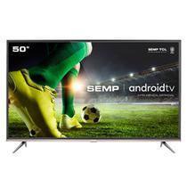 Smart TV 50 Semp 4K Voz Android SK8300 - Semp Tcl