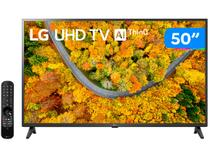 "Smart TV 50"" Ultra HD 4K LED LG 50UP7550PSF - 60Hz Wi-Fi e Bluetooth Alexa 2 HDMI 1 USB"