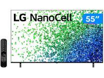 "Smart TV 55"" 4K UHD Nanocell LG 55NANO80SPA - 60Hz Wi-Fi e Bluetooth Alexa 4 HDMI 2 USB"