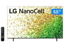 "Smart TV 55"" 4K UHD Nanocell LG 55NANO85SPA - 120Hz Wi-Fi e Bluetooth Alexa 4 HDMI 3 USB"