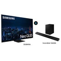 """Smart TV 55"""" Neo QLED 4K 55QN90A +  Soundbar Samsung HW-Q600A -"""