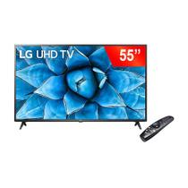 Smart TV 55 Pol LG 55UN731C0SC LED UHD 4K 3 HDMI 2 USB Wifi Bluetooth Bivolt Preto -