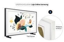 Smart TV 55 QLED 4K The Frame + Moldura para TV - Samsung