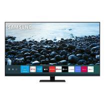 "Smart TV 55"" QLED Samsung Q80T QN55Q80TAGXZD 4K HDR, Wi-Fi, Bluetooth, 2 USB, 4 HDMI, Pontos Quânticos, Borda Infinita e 60Hz -"