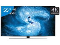 """Smart TV 55"""" Samsung 4K/Ultra HD 3D Gamer - UN55JS8500 Wi-Fi 4 HDMI 3 USB"""