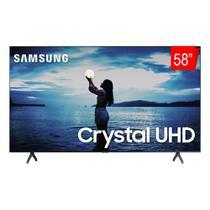 Smart TV 58 Pol 4K Samsung TU7020 Crystal UHD Wifi 2 HDMI Bluetooth Borda Ultrafina -