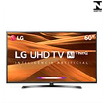 "Smart TV 60"" LED LG 60UM7470PSA 4K com Wi-fi, 2 USB, 3 HDMI e 60Hz -"