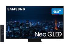 """Smart TV 65"""" 4K NEO QLED Mini Led Samsung 65QN90AA - 120hz Som em Movimento Plus Processador AI"""