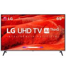 "Smart TV 65"" LED LG 65UM7520PSB 4K com Wi-Fi, 2 USB, 4 HDMI e 60Hz -"