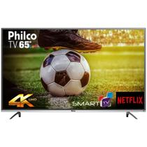 "Smart TV 65"" LED Philco PTV65F60DSWN, 4K Ultra HD, 3HDMI, 2USB, Netflix -"