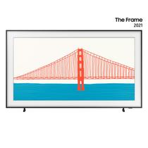 """Smart TV 65"""" QLED 4K Samsung  The Frame 2021 65LS03A, Design slim, Suporte de parede Slim incluso, Única Conexão, Molduras customizáveis, Modo Arte -"""