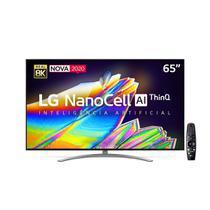 "Smart TV 65"" UHD 8K LG 65NANO96 NanoCell, IPS, Bluetooth, HDR, Inteligência Artificial ThinQ AI, Google Assistente, Alexa IOT, Smart Magic - 2020 -"