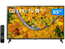 "Smart TV 65"" Ultra HD 4K LED LG 65UP7550PSF - 60Hz Wi-Fi e Bluetooth Alexa 2 HDMI 1 USB"