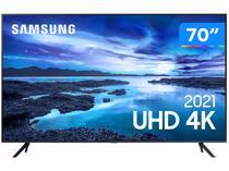 """Smart TV 70"""" Crystal 4K Samsung 70AU7700 Wi-Fi - Bluetooth HDR Alexa Built in 3 HDMI 1 USB"""