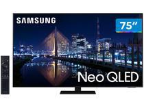 """Smart TV 75"""" 4K NEO QLED Mini Led Samsung 75QN85AA - 120hz Som em Movimento Processador AI"""