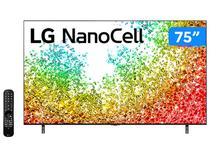 "Smart TV 75"" 8K UHD Nanocell LG 75NANO95SPA - 60Hz Wi-Fi e Bluetooth Alexa 4 HDMI 3 USB"