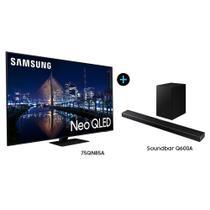 """Smart TV 75"""" Neo QLED 4K 75QN85A + Soundbar Samsung HW-Q600A -"""