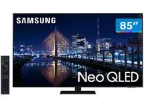 """Smart TV 85"""" 4K NEO QLED Mini Led Samsung 85QN85AA - 120hz Som em Movimento Processador AI"""