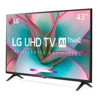"""Smart TV 8K LG LED 65 Wi-Fi - 65NANO96SNA + Smart TV LG LED 4K 43"""" Wi-Fi - 43UN7300PSC -"""