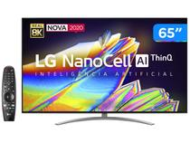 "Smart TV 8K NanoCell IPS 65"" LG 65NANO96SNA - Wi-Fi Bluetooth HDR Inteligência Artificial 4 HDMI"