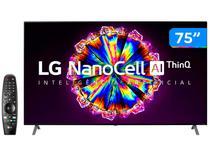 "Smart TV 8K NanoCell IPS 75"" LG 75NANO95SNA - Wi-Fi Bluetooth HDR Inteligência Artificial 4 HDMI"