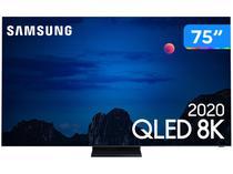 "Smart TV 8K QLED 75"" Samsung QN75Q950TSGXZD - Wi-Fi e Bluetooth HDR 4 HDMI 3 USB"