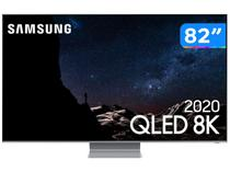 "Smart TV 8K QLED 82"" Samsung 82Q800TA - Wi-Fi Bluetooth HDR 4 HDMI 2 USB"