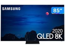 "Smart TV 8K QLED 85"" Samsung QN85Q950TSGXZD - Wi-Fi e Bluetooth HDR 4 HDMI 3 USB"