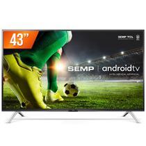 Smart TV Android 43'' LED Full HD Semp 43S5300 2 HDMI 1 USB -