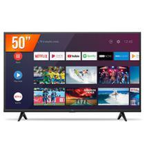 "Smart TV Android LED 50"" 4K Ultra HD TCL 50P615 3 HDMI 2 USB Wi-Fi Bluetooth -"