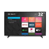 Smart TV AOC 32 Polegadas Roku TV LED 32S5195/78 com Wifi Integrado Roku Mobile Netflix Entradas HDMI e USB -