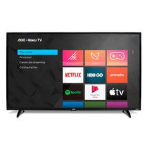 Smart TV AOC 32 Polegadas Roku TV LED 32S5195/78 com Wifi Integrado Roku Mobile Netflix Entradas HDMI e USB