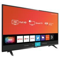 """Smart TV AOC LE43S5295 43"""" Full HD Wi-Fi 3 HDMI 2 USB Preto -"""