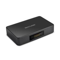 Smart TV Box Hibrido Android + Conversor 1GB RAM + 8GB Flash Multilaser Preto - PC001