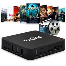 Smart TV Box MX9 Android Netflix 4k