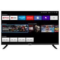 "Smart TV Britânia 32"" BTV32G70N5CBLH LED Netflix Preta -"