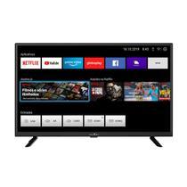 "Smart TV Britânia 32"" LED BTV32G52S  Netflix -"